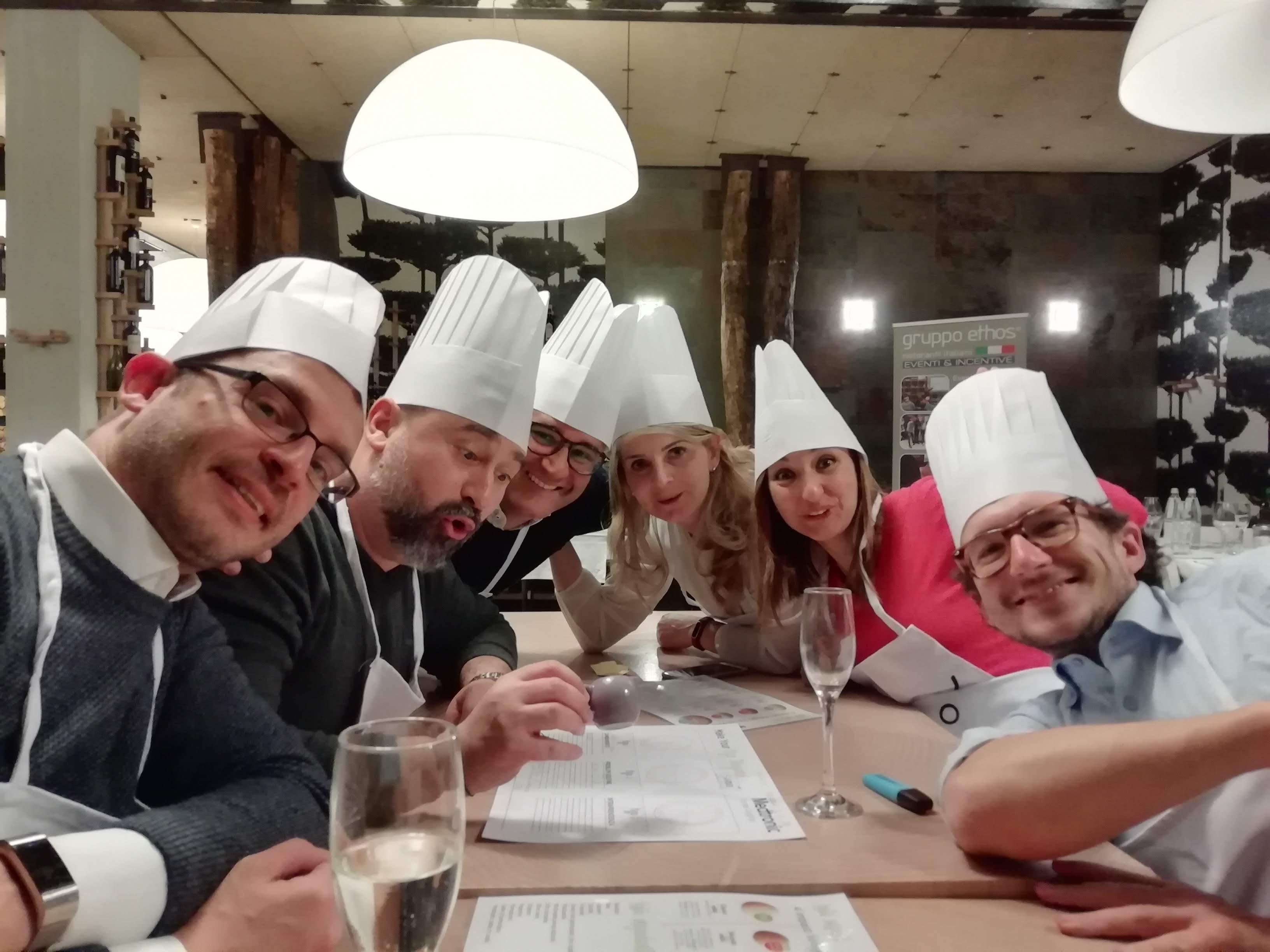 Team building Make your pizza storyboard per Medtronic da Graniebraci