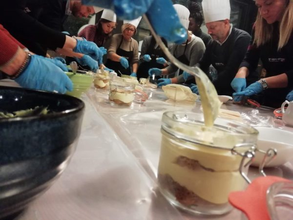 Team building aziendale Loro Piana a Grani e Braci - Cook, eat and Learn