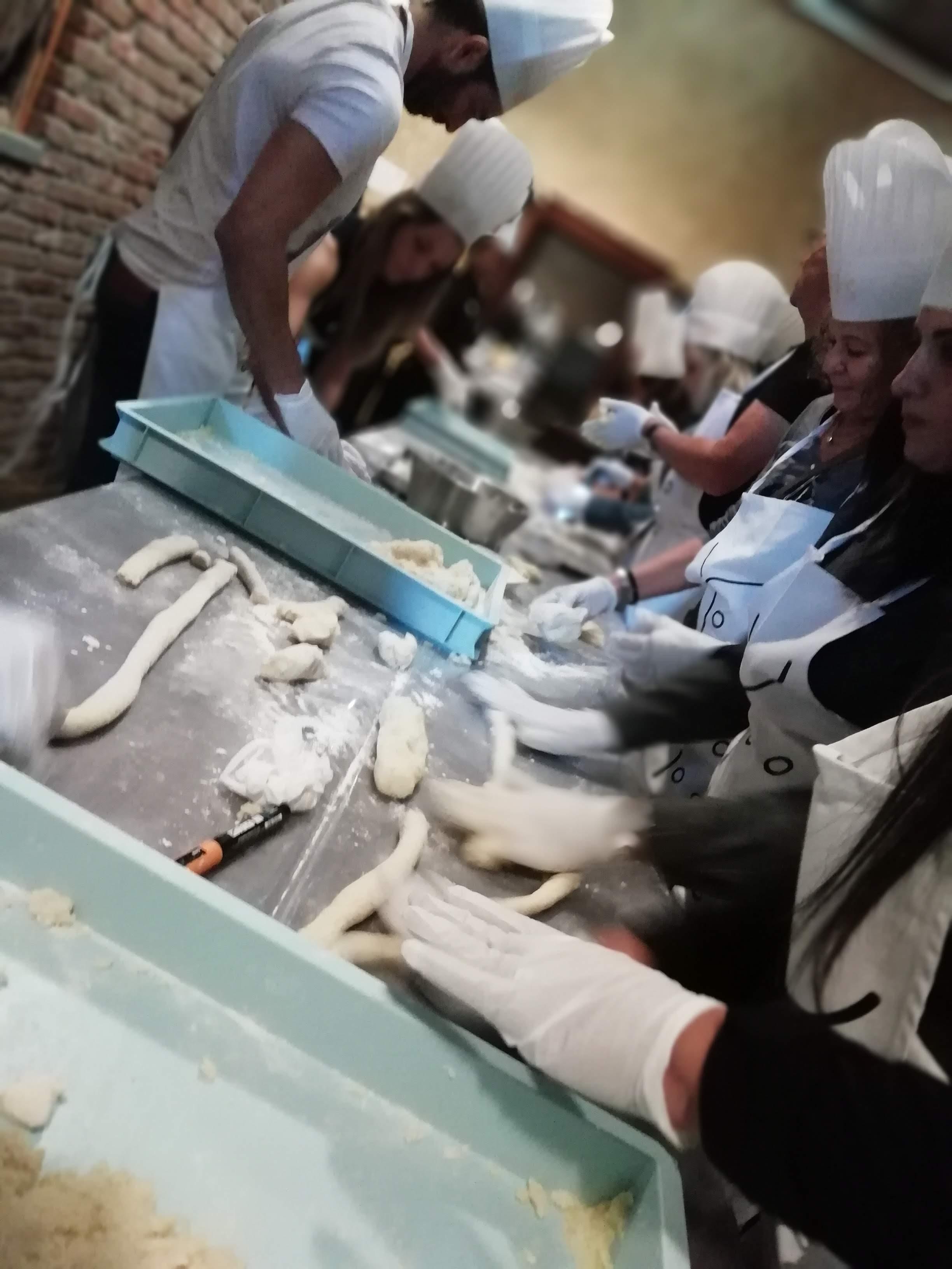 team building CSC tours cook eat learn acqua e farina