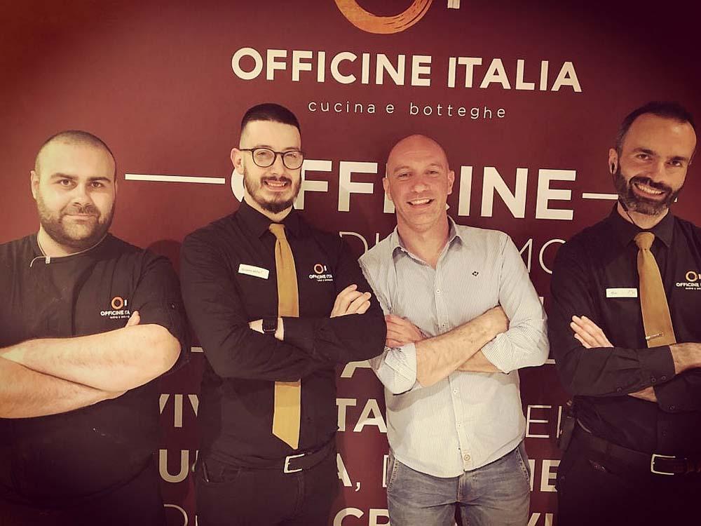 team building Studio 3A Make Your Pizza Officine Italia Mestre