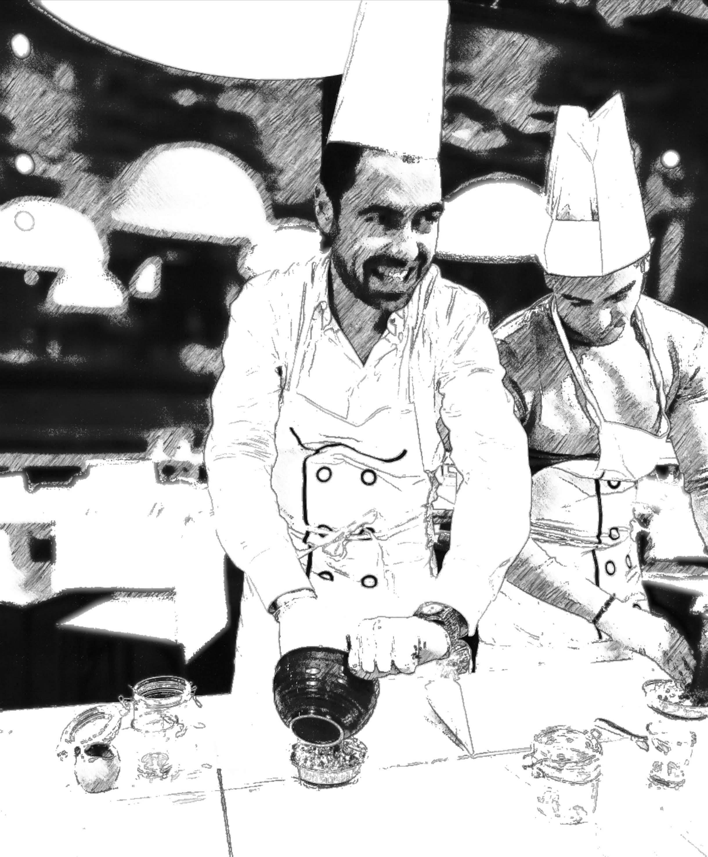team building cook eat leard Loro piana a Grani&Braci