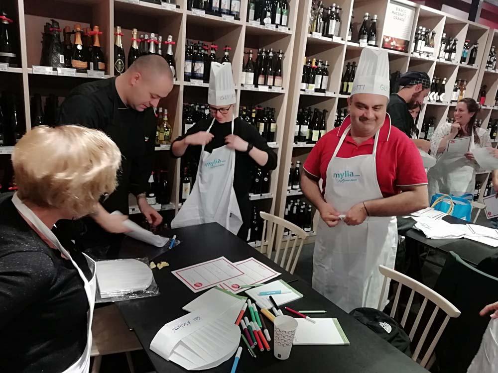 team building per adecco cook eat learn officine italia mestre